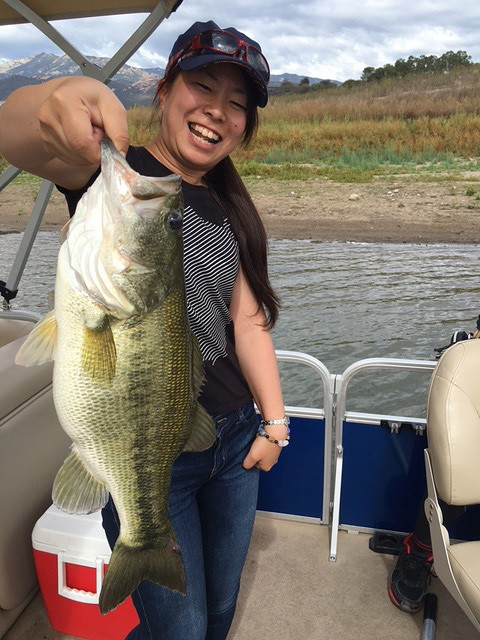 Southern california fishing guide report 10 14 2015 lake for Freshwater fishing in southern california