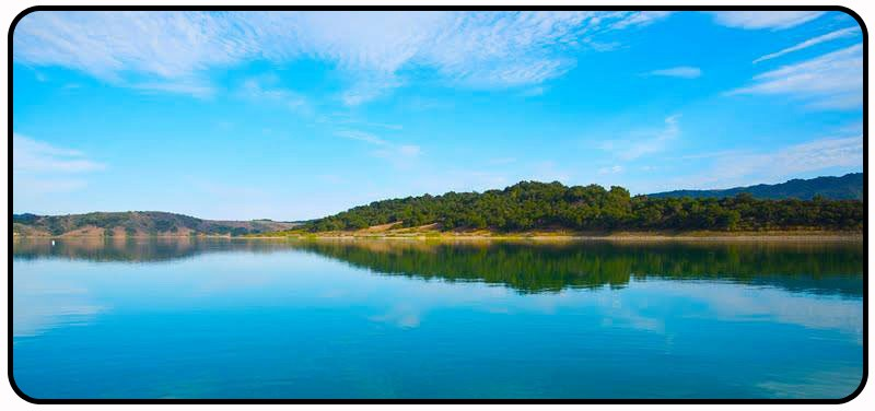 Rich tauber lake casitas fishing guide bass trout for Trout fishing southern california