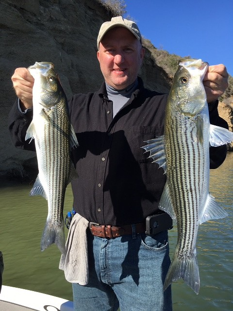 Southern california fishing guide report 11 20 2015 rich for Pyramid lake ca fishing report
