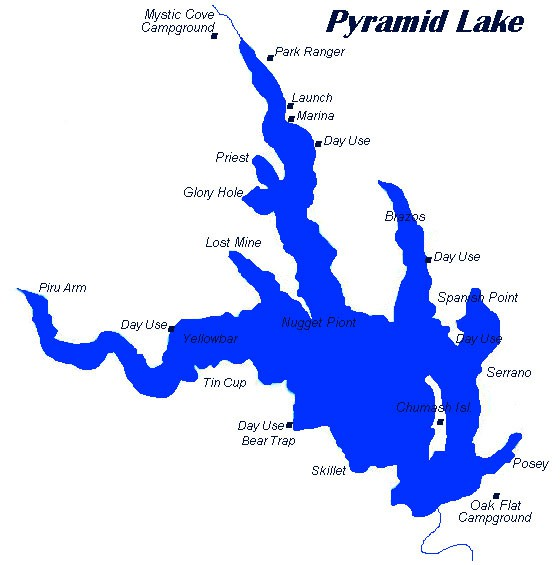 Pyramid lake rich tauber fishing southern california for Pyramid lake ca fishing report