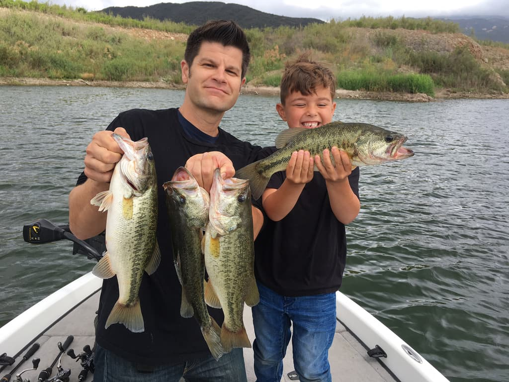 Gallery rich tauber fishing southern california for Bass lake fishing