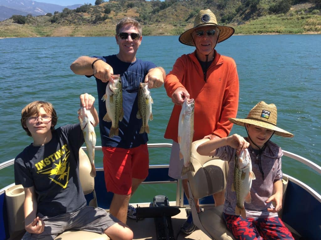 Lake Casitas Bass Fishing Guide Service - 06/20/2017