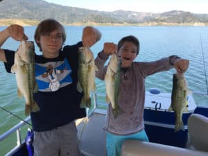 Lake Casitas Bass Fishing Guide Service - 06/21/2017
