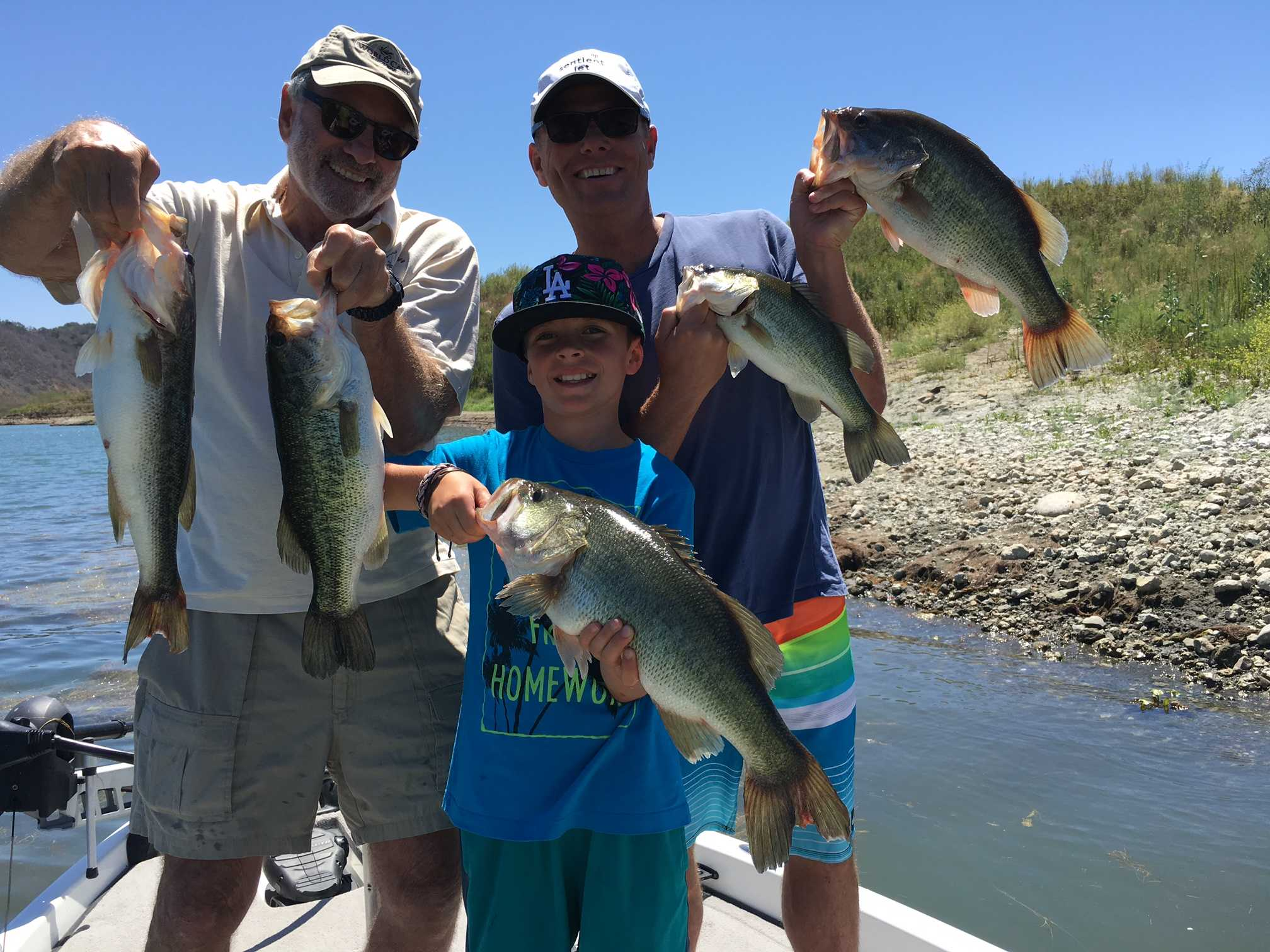 Lake Casitas Fishing Guide 07/12/2016