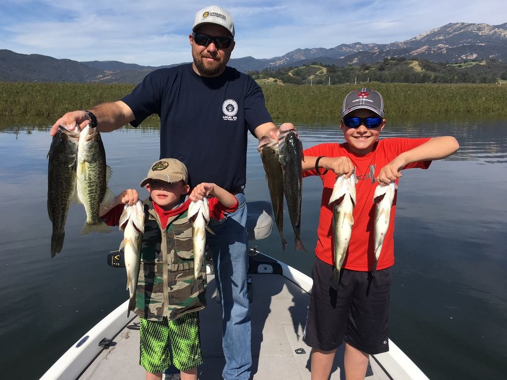 Southern California Bass Fishing Guide Service - Lake Casitas 03/17/2017