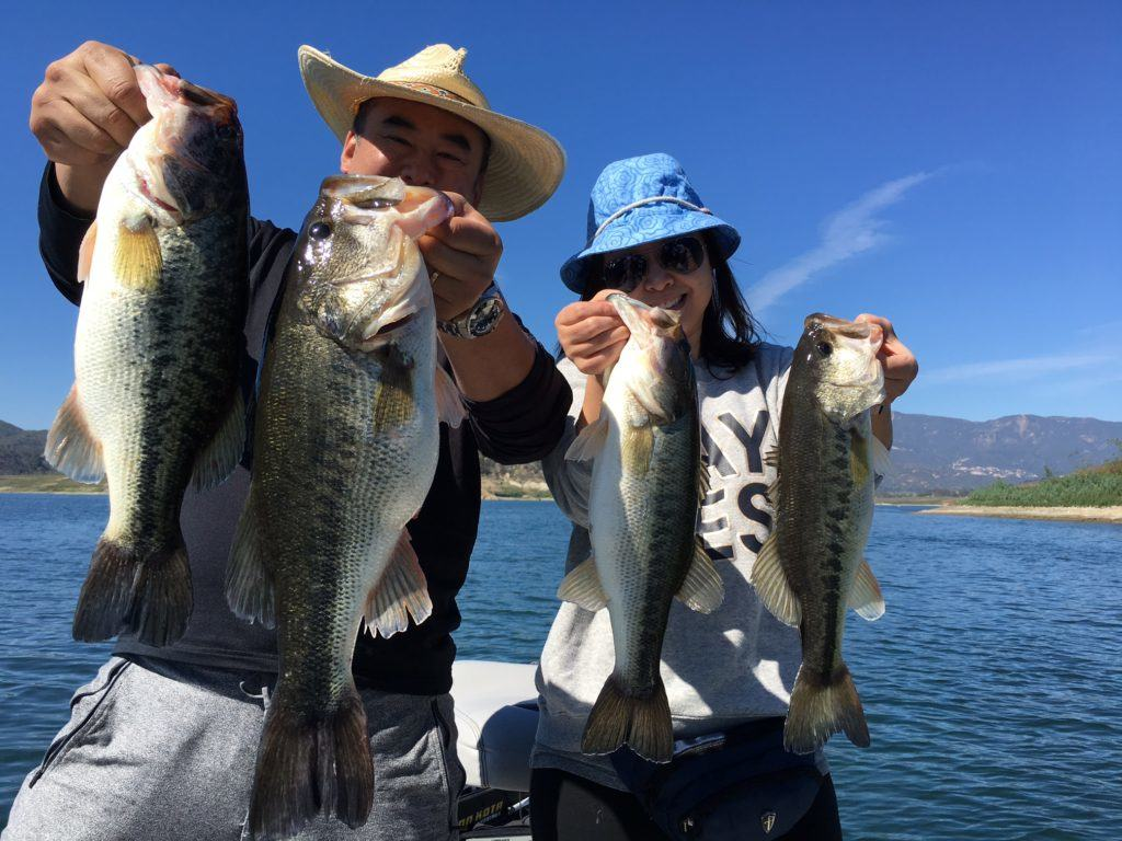 Lake Casitas Fishing Guide Report 01/15/2017