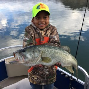Lake Casitas Fishing Guide Report 01/01/2017
