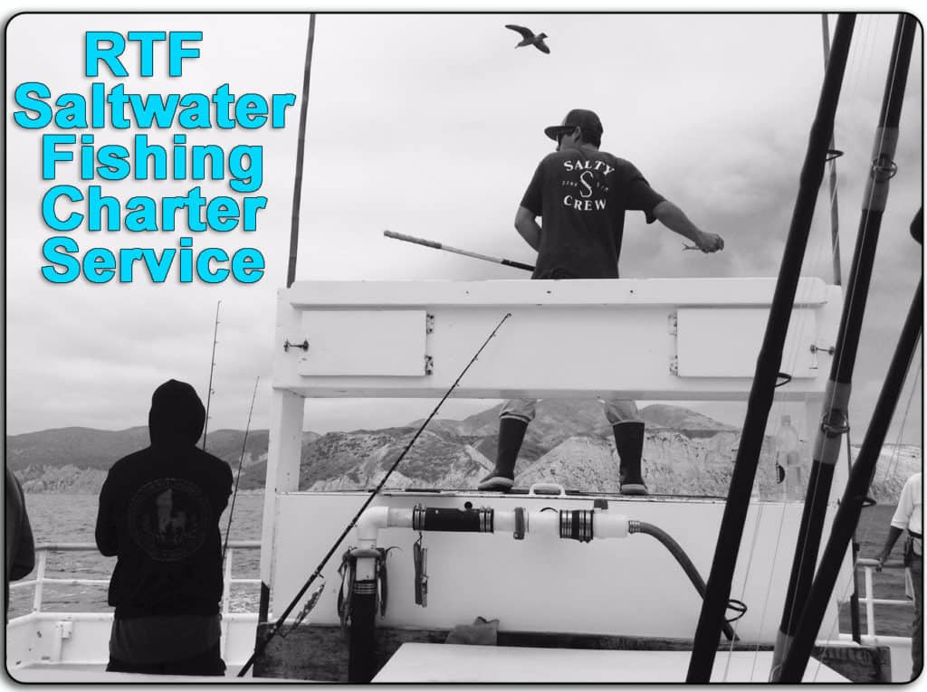 RTF Saltwater Fishing Charter Service Header
