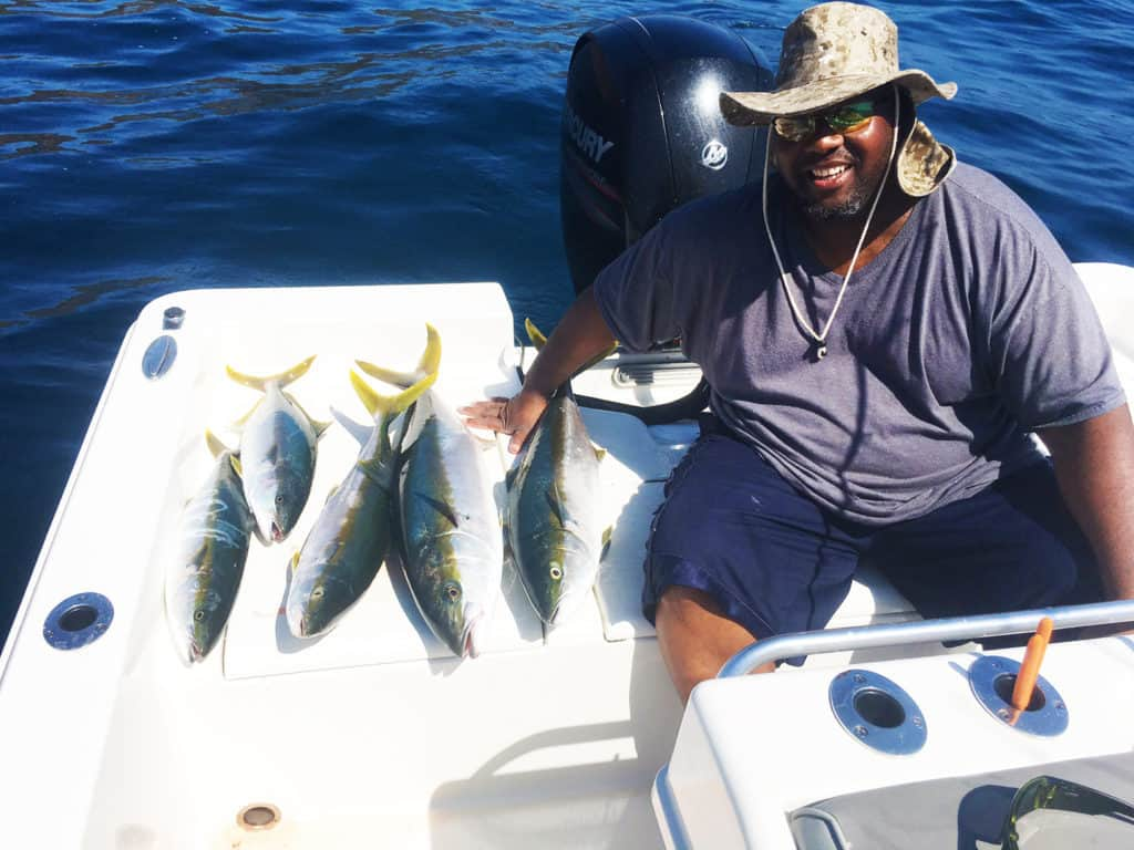 Saltwater Fishing Charter Report 09/20/2017